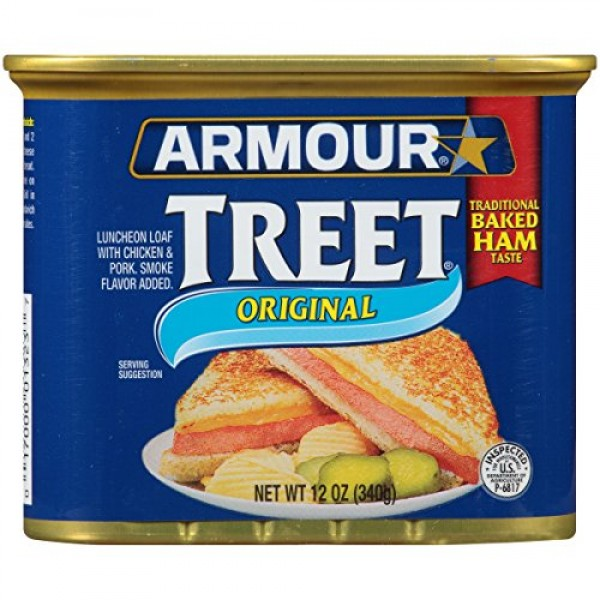 Armour Star Treet Luncheon Loaf, 12 oz. Pack of 12
