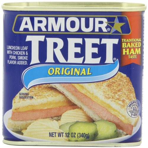 Armour Treet Luncheon Meat, 12-Ounce Pack of 6