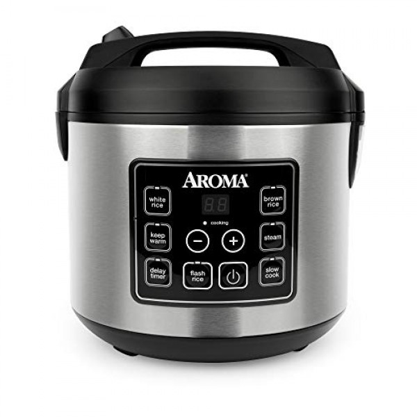 Aroma Housewares 20 Cup Cooked 10 cup uncooked Digital Rice Co...