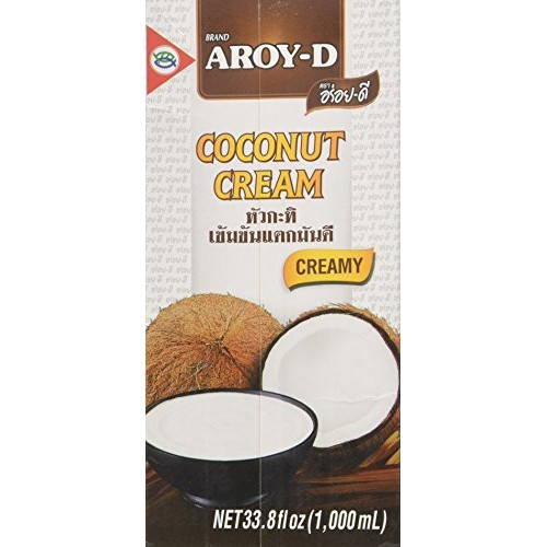 AROY-D 100% Pure Coconut Cream, 33.8 fl oz