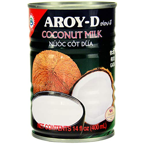 Aroy-D Coconut Milk, 14 Ounce Pack of 12