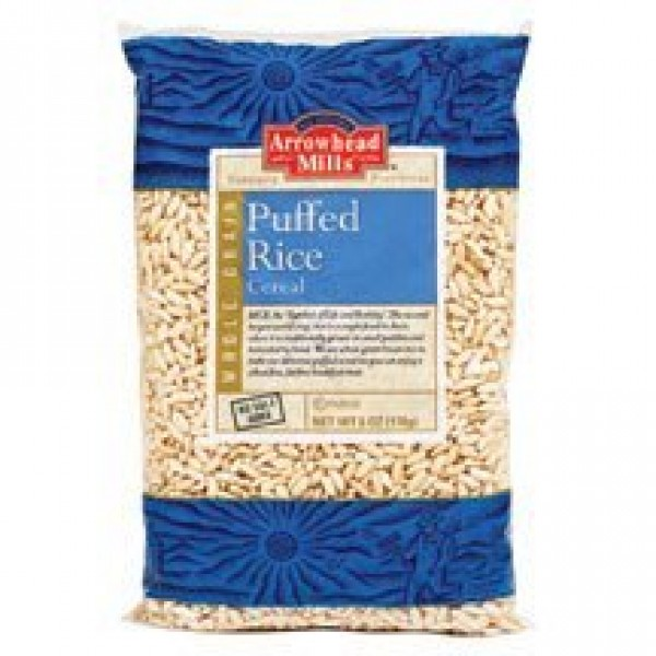 Arrowhead Mills Puffed Brown Rice Cereal 6 OZ Pack of 3
