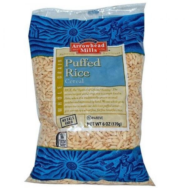 Arrowhead Mills Puffed Brown Rice Cereal 3x6 oz.