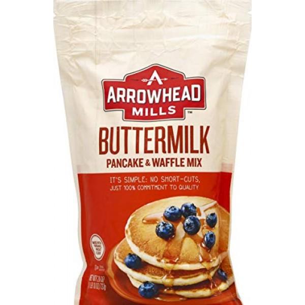 Arrowhead Mills Buttermilk Pancake & Waffle Mix, 26 oz.