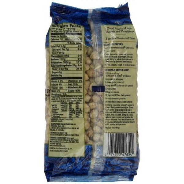 Arrowhead Mills Chickpeas, 1-Pound Unit Pack of 6