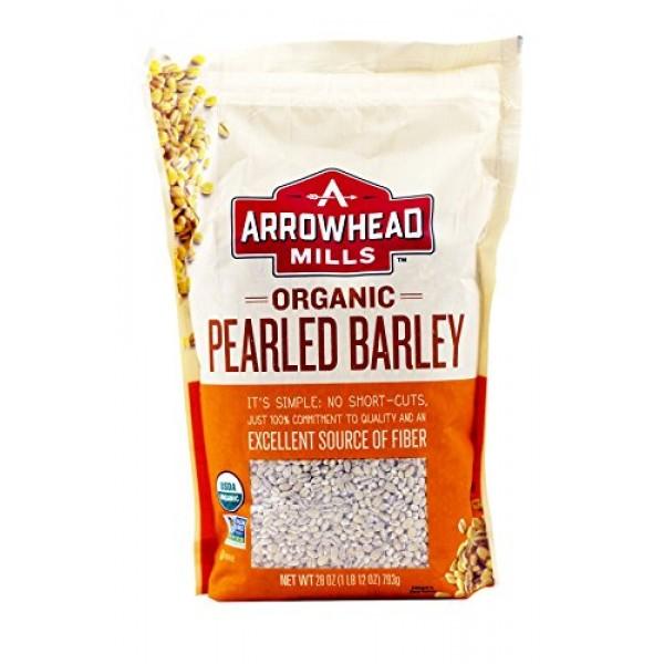 Arrowhead Mills, Pearled Barley, Organic, 28 oz