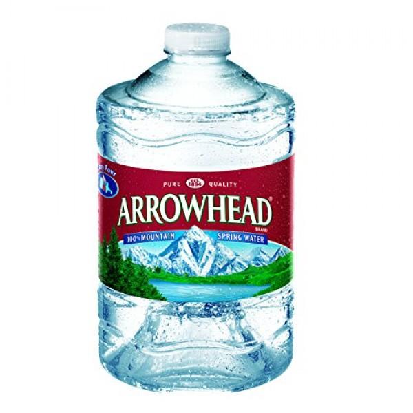 Arrowhead Mountain Spring Water, 3 Liter Jug