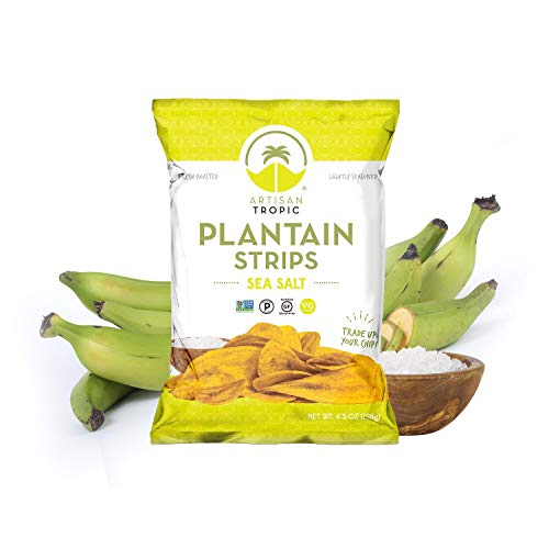Sea Salt Plantain Chips - Vegan Snacks - Healthy Snacks - Paleo ...