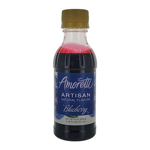 Amoretti Blueberry Artisan Fruit Puree 8 Oz