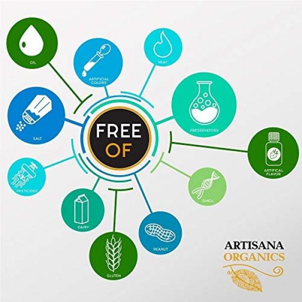 Artisana Organics Non GMO Coconut Cacao Bliss Spread 1 Pack, 8 oz