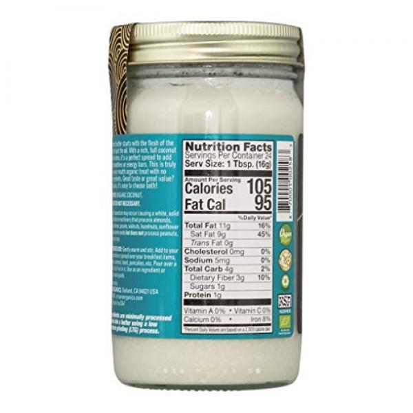 Artisana Organics Non GMO Raw Coconut Butter, 14 oz 4 Pack