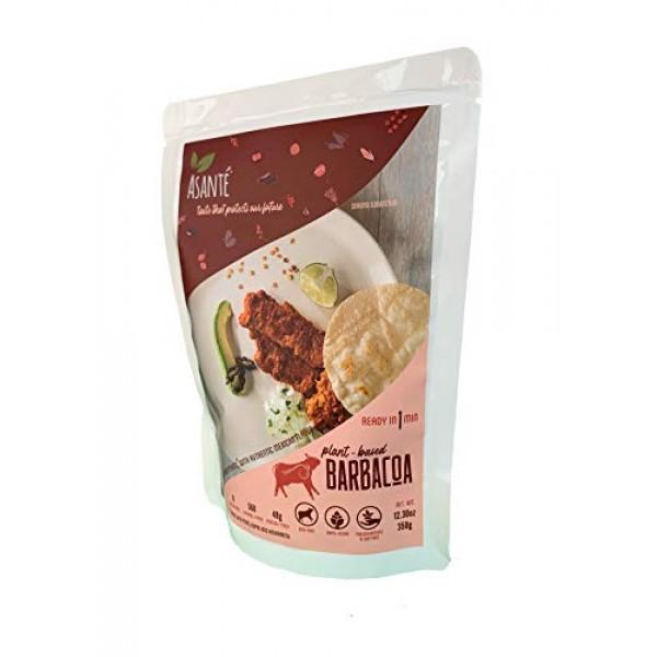 Asante Plant-Based Barbacoa - Vegetarian Food - Meatless, Vegan ...