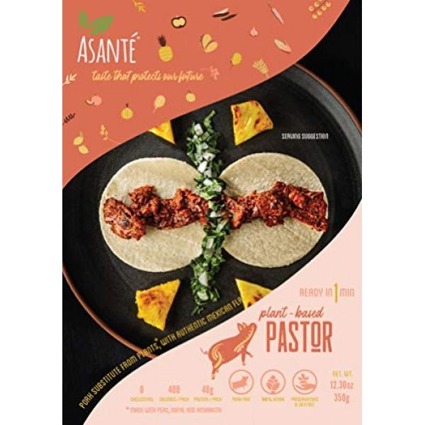 Asante Plant-Based Pastor - Vegan Meatless Pork - Vegetarian Foo...