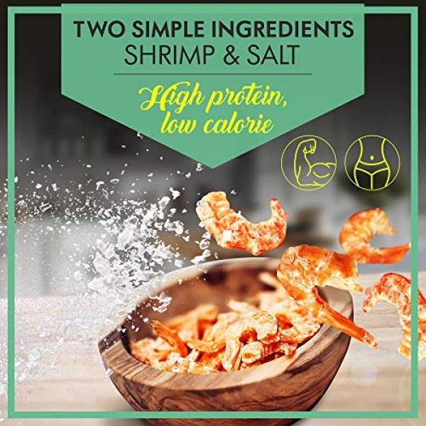 Asia Trans Dried Louisiana Large Shrimp | Hawaiian Favorite | Fr...