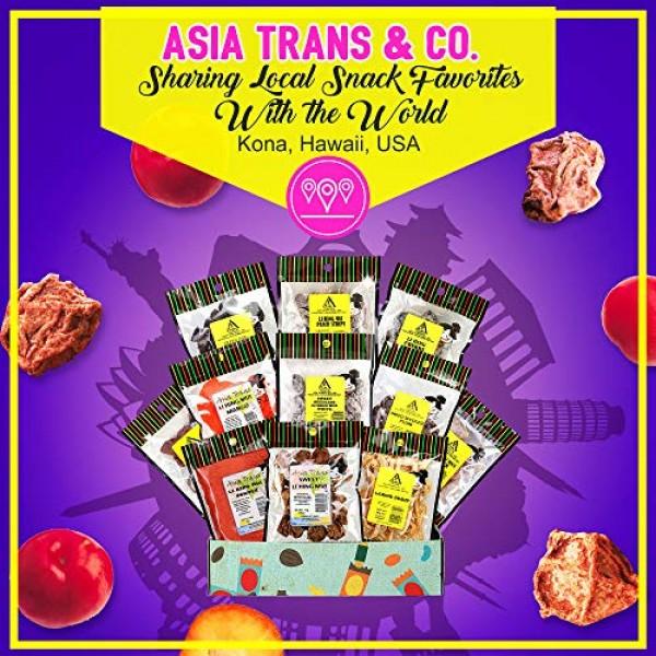 Asia Trans 12 Pack Li Hing Mui Crack Seed Gift Set | Hawaiian Fa...