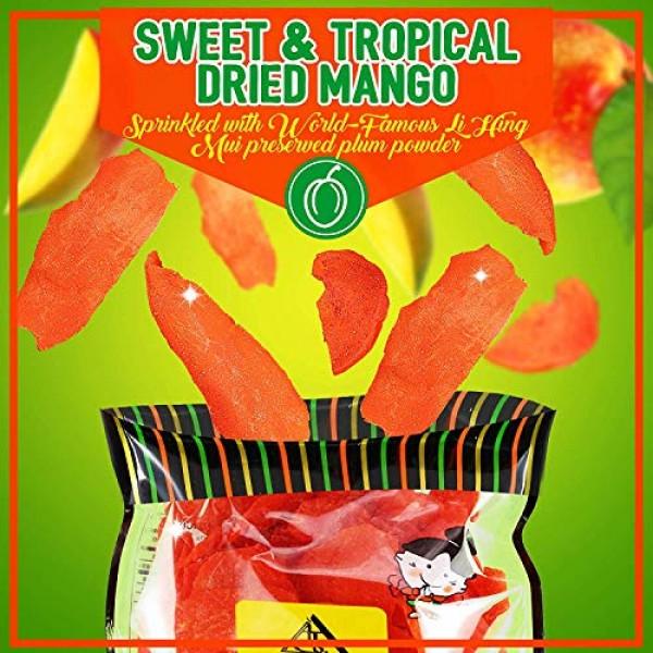 Asia Trans Li Hing Mui Dried Mango   Hawaiian Favorite   Natural...
