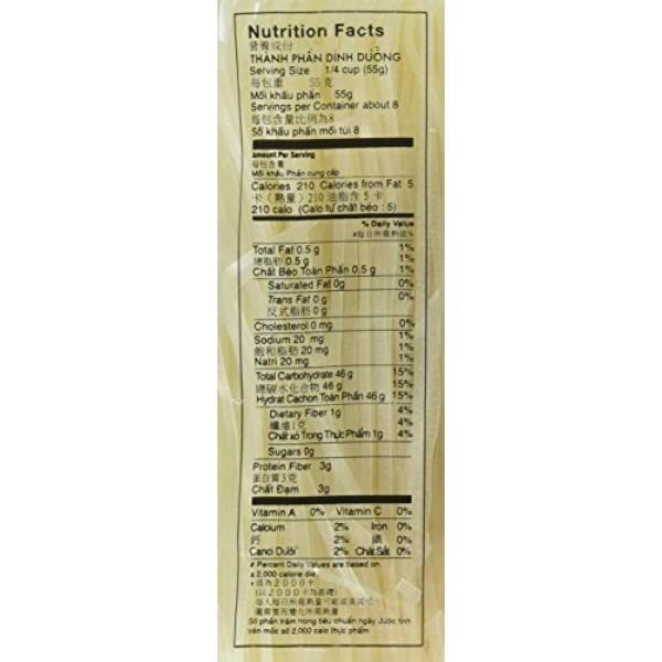 Asian Best Premium Rice Stick Noodle Medium, 16oz 3 Pack