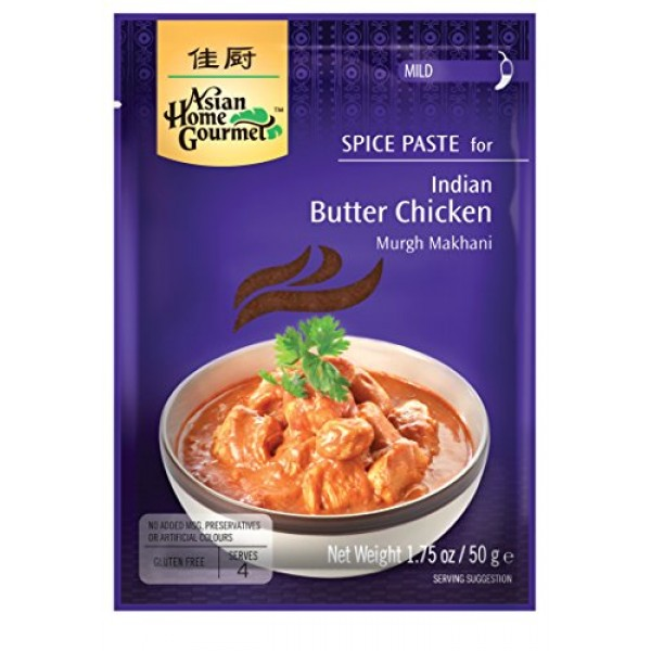 Asian Home Gourmet Spice Paste for Indian Butter Chicken - Murgh...