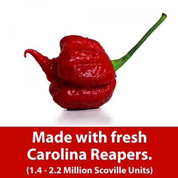 ASS KICKIN Carolina Reaper Hot Spicy Salsa - 13 oz. - Premium G...