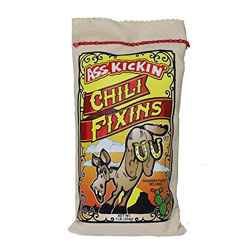 KICKIN Chili Fixins - 1 Pack 16oz. - Premium Gourmet Gift Made ...