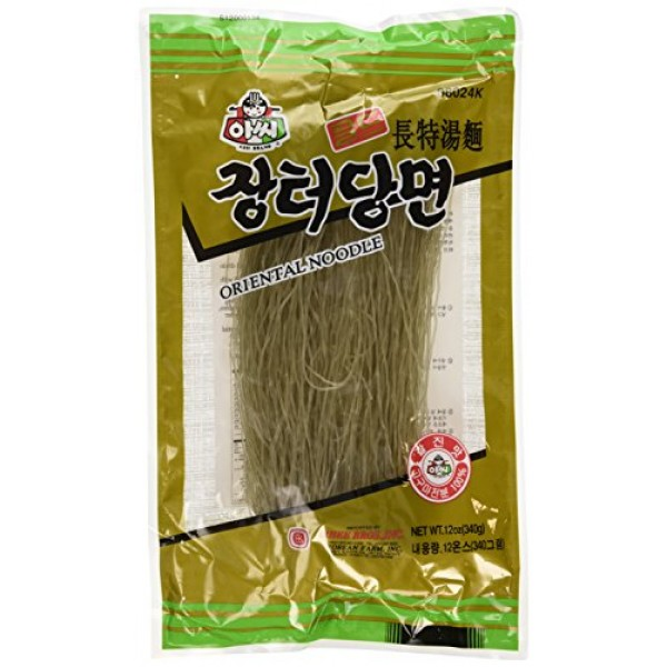 2 packs - Assi Glass Noodles, Korean Vermicelli, Dangmyun, Sweet...