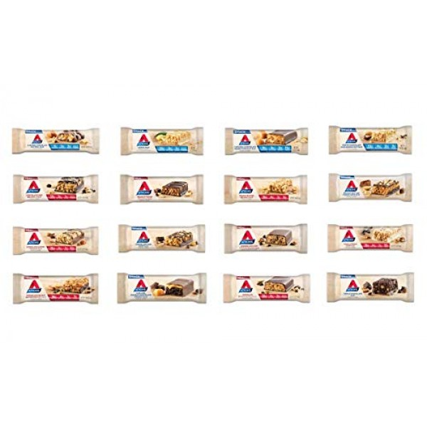 Atkins Meal & Snack Bar Sampler Pack. Delicious Protein Bars tha...