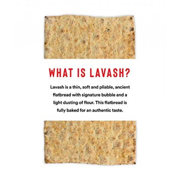 Atoria's Family Bakery Mini Lavash bread w/ Whole Grain & Flax │...