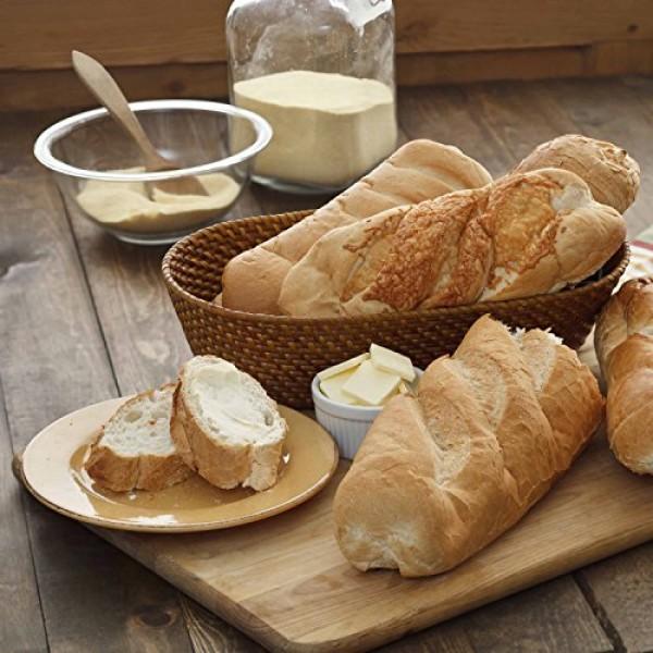Augason Farms Honey White Bread Scone & Roll Mix 3 lbs 10 oz No....