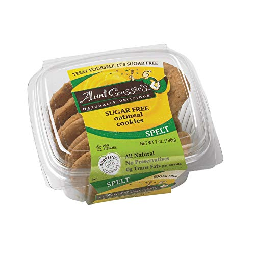 Sugar Free Oatmeal Cookies 7 Ounces Case of 8