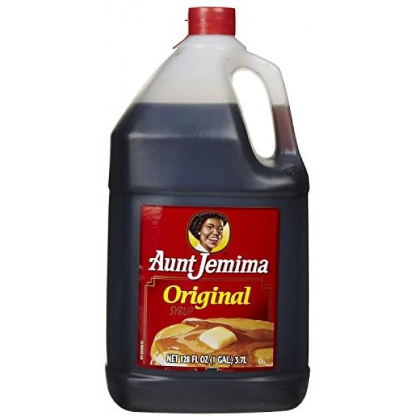 Aunt Jemima Syrup Jug - 128 oz