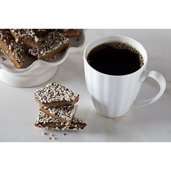 Aunt Maes Sweet Tooth English Toffee 8 oz Box Dark Chocolate w...