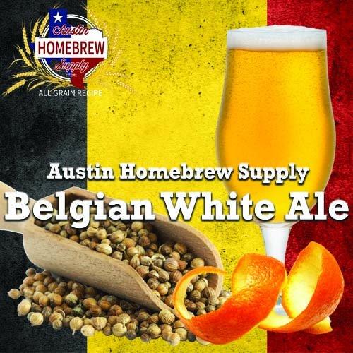 Austin Homebrew Belgian White Beer 16A - ALL GRAIN