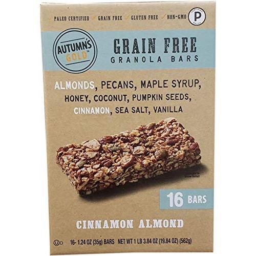 Autumnss Gold Grain Free Cinnamon Almond 16Count/1.24 oz, 19....