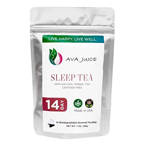 Ava Juice Herbal Sleep Tea - Zero Caffeine Sleeping Aid and Rela...