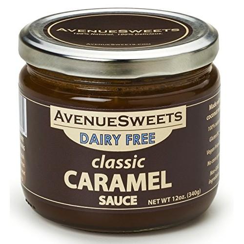 AvenueSweets - Handcrafted Dairy Free Vegan Caramel Sauce - 1 x ...