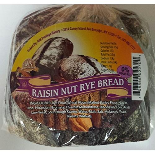 Russian Raisin Nut Rye Bread Pack of 4