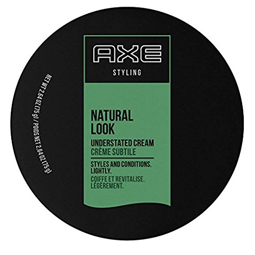 Axe Styling Cream, Natural, Understated Look, 2.64Ounce Pack o...