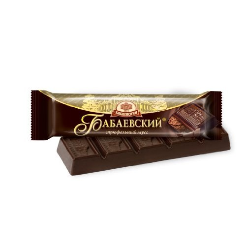 Imported Russian Chocolate Bar Babaevskiy Truffle Mousse (Set ...