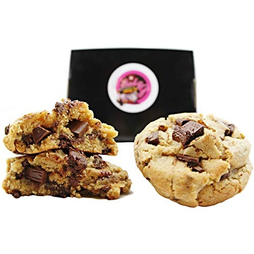 Chocolate Chip Cookies Gift Basket Fresh Baked Goods Gourmet Des...