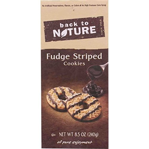 Fudge Striped Cookies 8.50 Ounces Case of 6