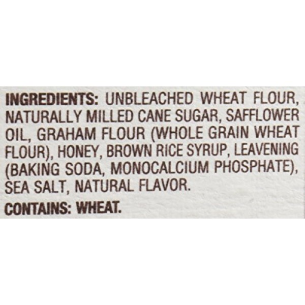 Back to Nature Cookies, Non-GMO Honey Graham Stick, 8 Ounce Pac...