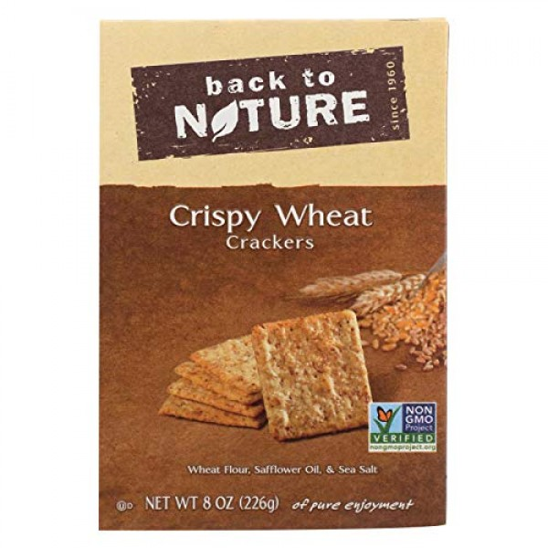 Back To Nature Cracker Crispy Wht