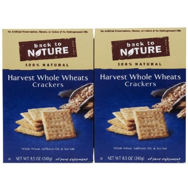 Back to Nature Crackers - Harvest Whole Wheat - 8.5 oz - 3 pk
