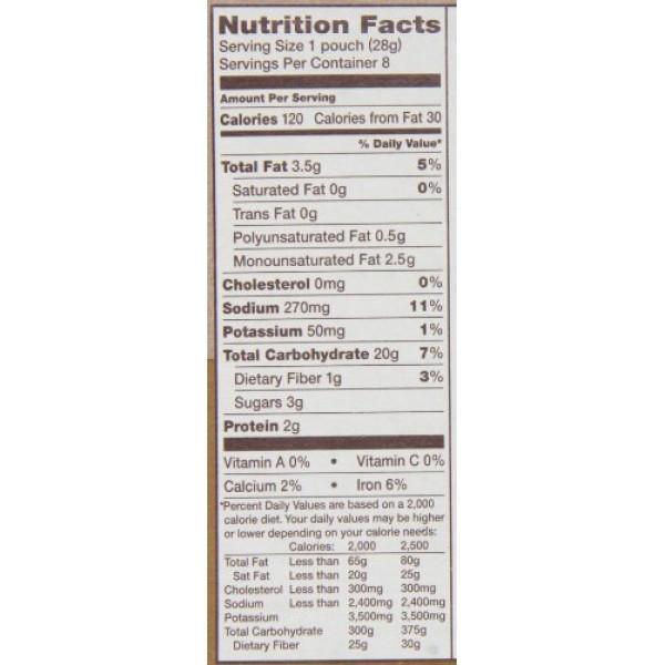 Back to Nature Crackers, Non-GMO Crispy Wheat, 1 Ounce Grab & Go...
