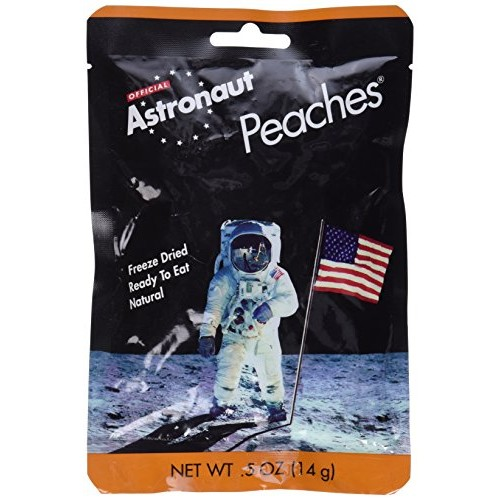 Astronaut Freeze Dried Peaches Pouch