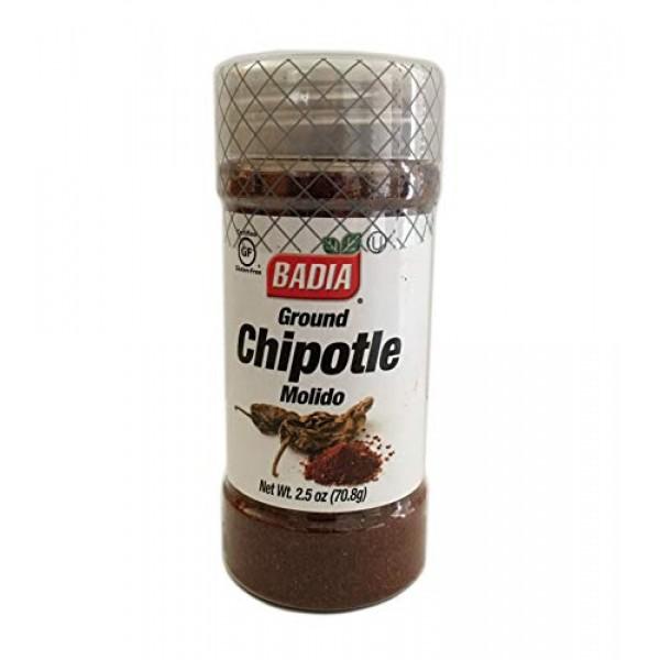2.5 oz Bottle Chipotle Ground Powder Kosher / en Polvo Molido