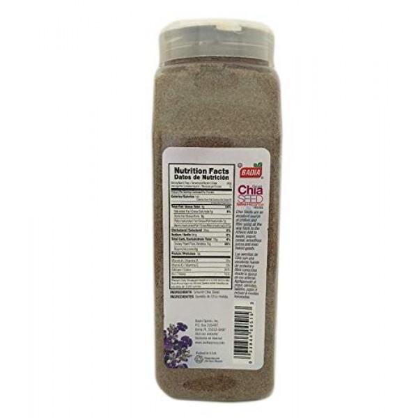 2 PACK Ground Chia Seed Powder Fiber / Salvia en Polvo Molida Ko...