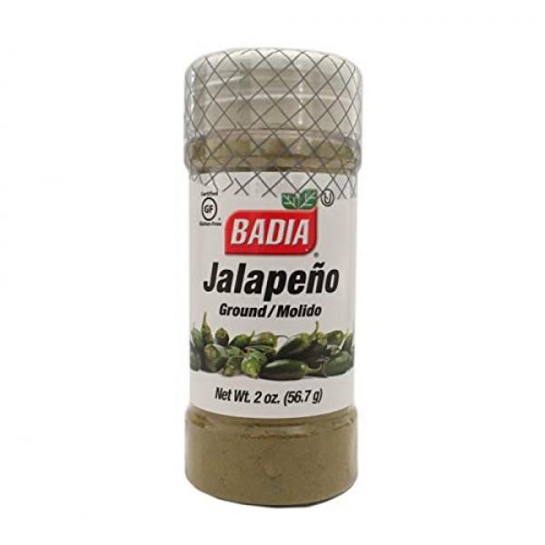 2 PACK Ground Jalapeño jalapeno Powder Green Chili / Chile Molid...