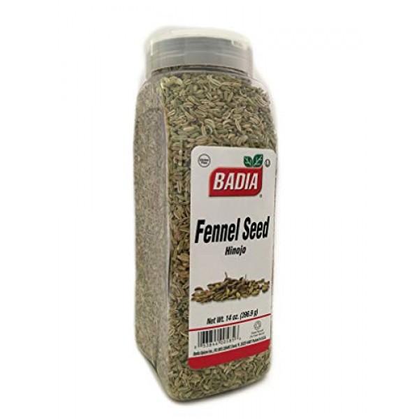 2 PACK Whole Fennel Seed / Hinojo Entero Gluten Free Kosher 2x14 oz