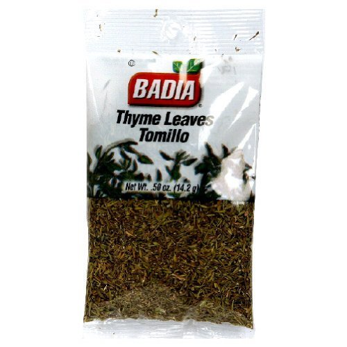 Badia Thyme Leaves, 0.5-Ounce Pack of 12